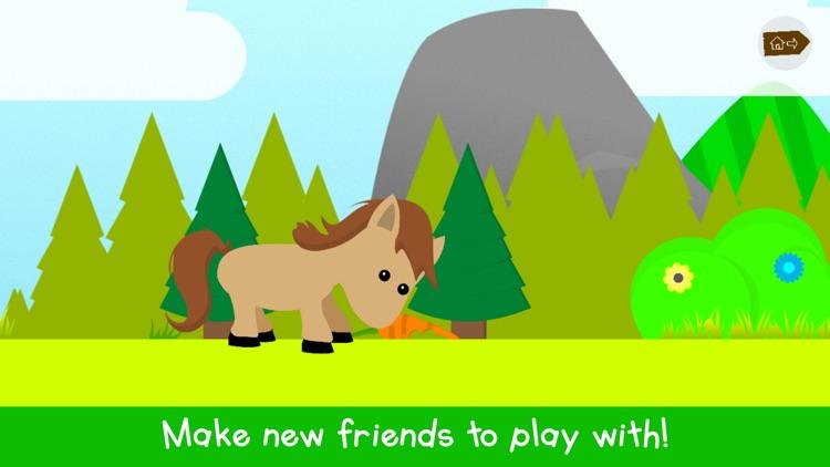 Tiny Mini Forest: kids games