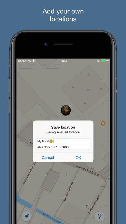 Venice 2020 — offline map screenshot-4