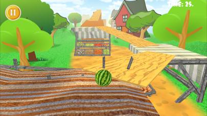 Watermelon Balance 3D Ball