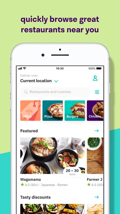 Deliveroo: Food delivery for pc