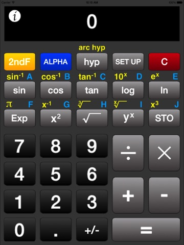 ACalc - Scientific Calculator - náhled
