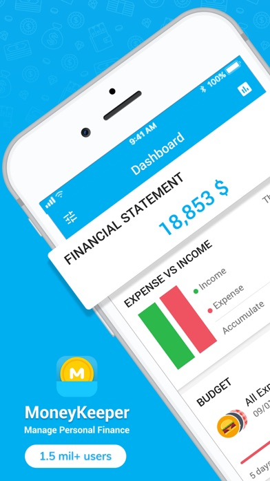 Money Keeper: Finance, Note