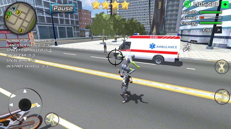 Amazing Rope Police screenshot-5