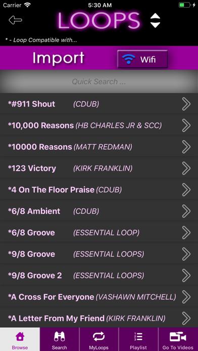 Loops By CDub Screenshot