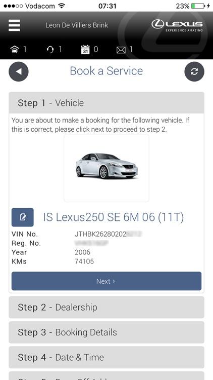 My Lexus S.A screenshot-4