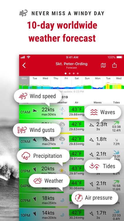 Windfinder Pro Wind & Weather screenshot-4