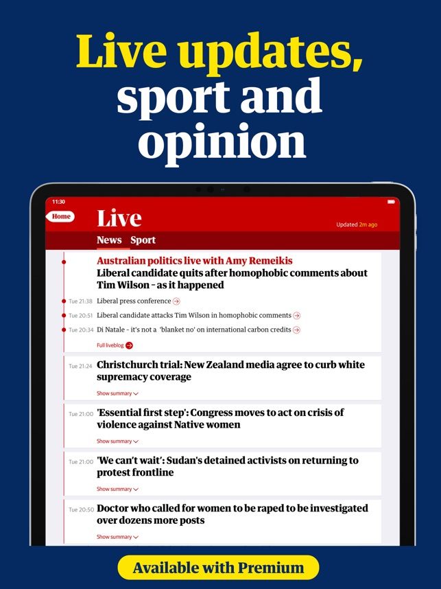 The Guardian - Live World News on the App Store