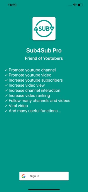 Sub4Sub Pro For Youtube on the App Store
