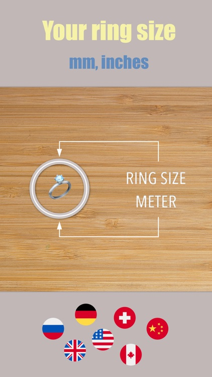 Ring Size Meter accurate sizer