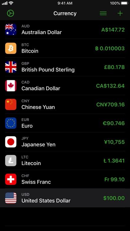 Currency screenshot-3