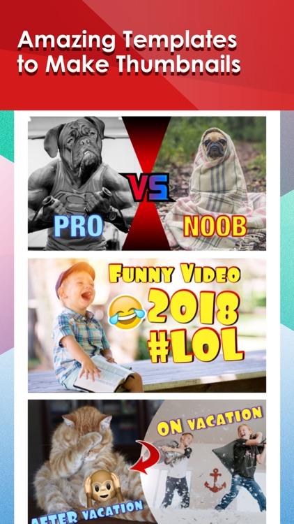 Thumbnail Maker for YT Videos screenshot-4