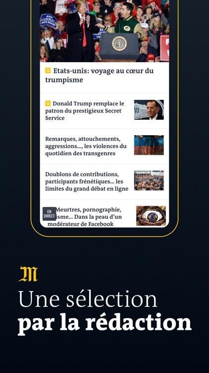 Le Monde, Actualités en direct screenshot-4