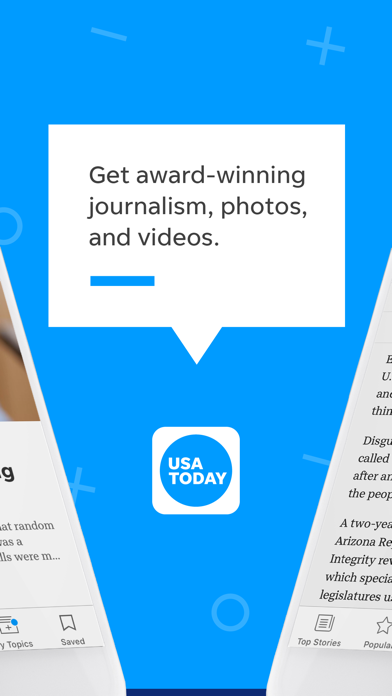 USA TODAY - News: Personalized Screenshot