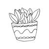 Scandi Cactus Stickers