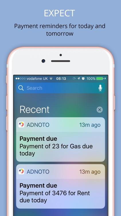 Adnoto Expense Manager screenshot-4