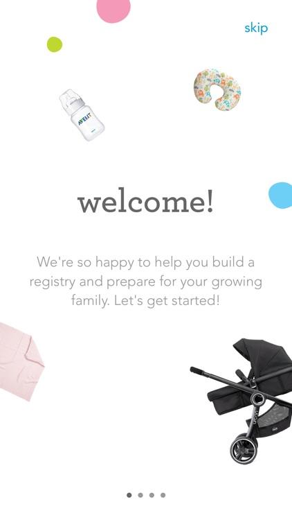"""Babies """"R"""" Us Registry"""