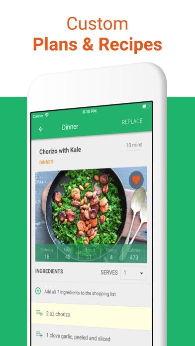 Keto Diet Meal Plan & Recipes Screenshot