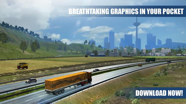 Truck Simulator PRO Europe screenshot-4