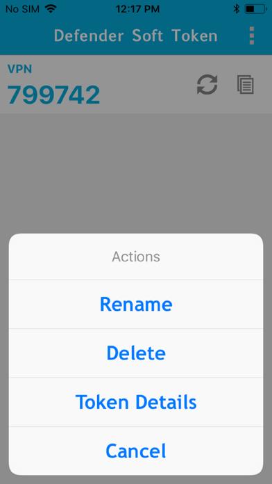 messages.download Defender Soft Token software