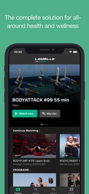 LES MILLS On Demand on the App Store