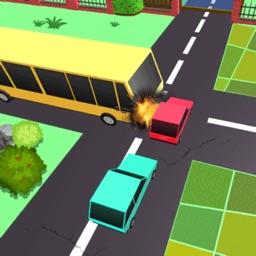 Car Road Cross Rescue