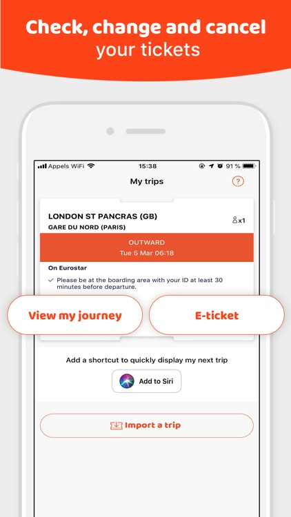 OUI.sncf: Train & Bus tickets screenshot-3