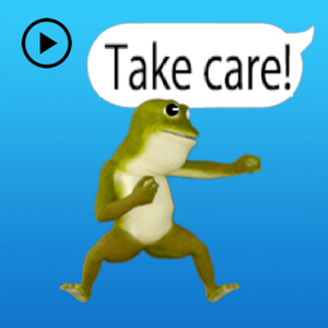 Animated Dancing Frog Stickers - Stickers app