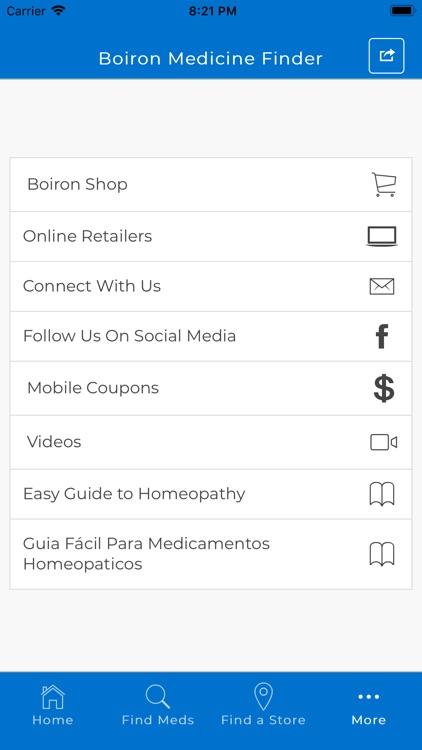 Boiron Medicine Finder screenshot-3
