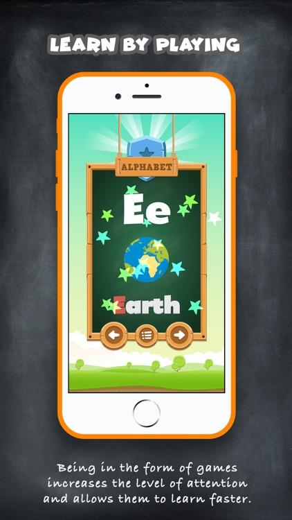 ABC Alphabet Game - English screenshot-3