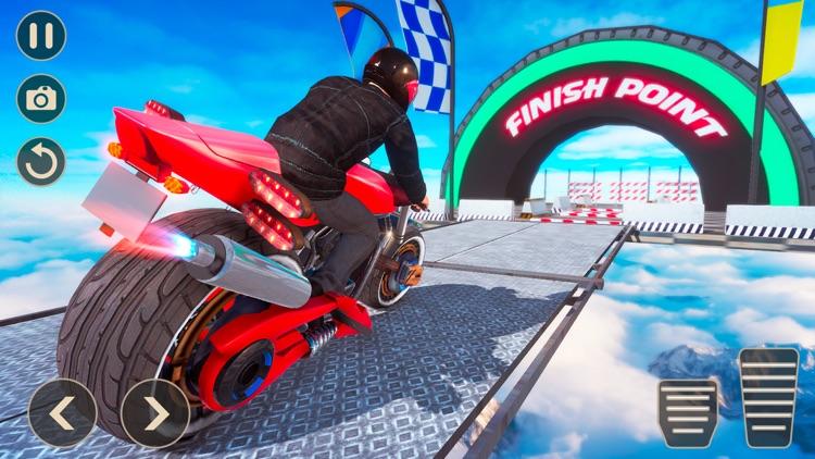 Mega Ramp Bike Stunts Games 20 screenshot-5