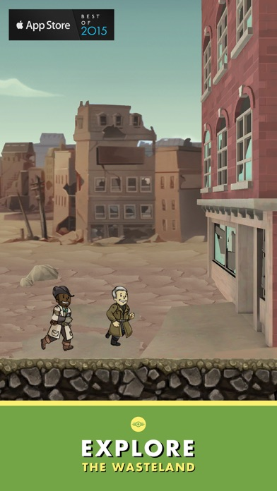 Fallout Shelter Screenshot on iOS