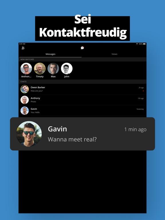 Beliebte schwule Hookup-Apps
