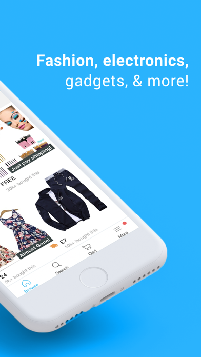 Screenshot for Wish - Shopping Made Fun in Ireland App Store