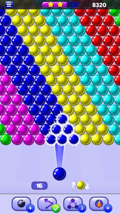 Screenshot of Bubble Shooter - Sparabolle7