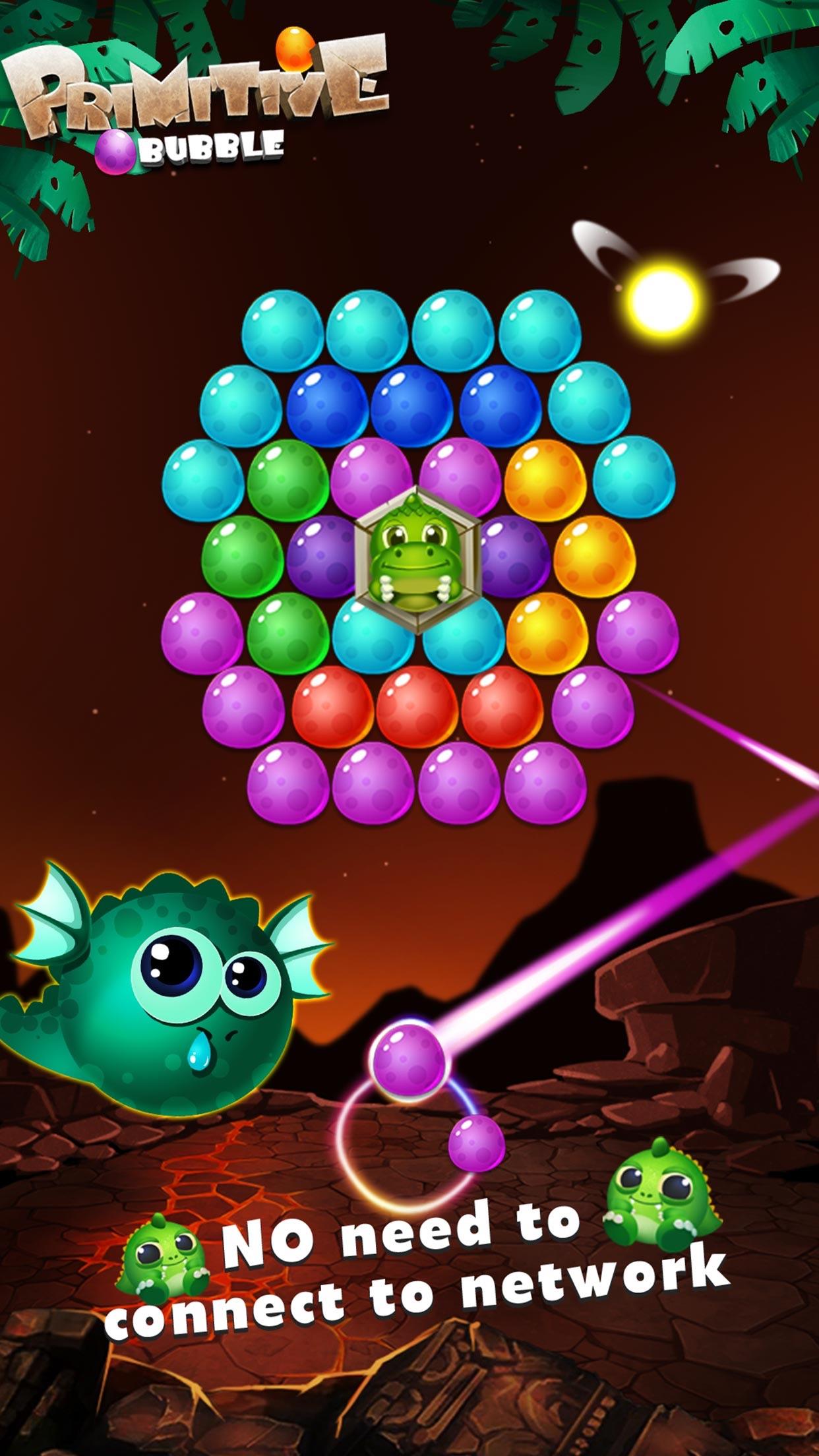Bubble Shooter Dragon Pop Screenshot