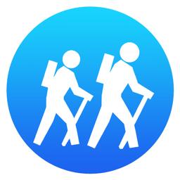 I Hike GPS app icon: Top Maps