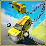Chained Car Crash Beam Driving