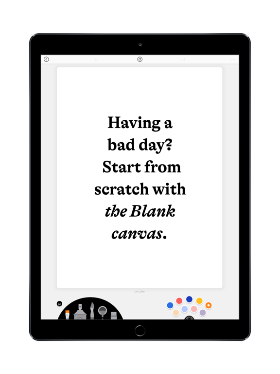 iPad Image of Lake: Coloring Books