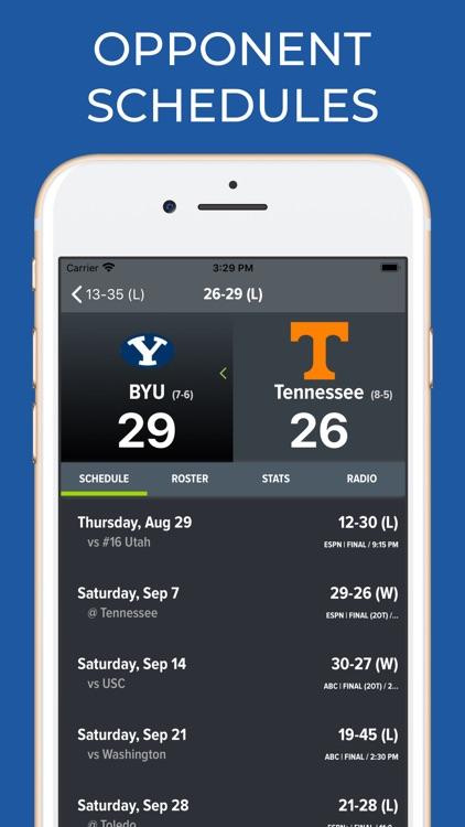 Tennessee Football Schedules screenshot-7