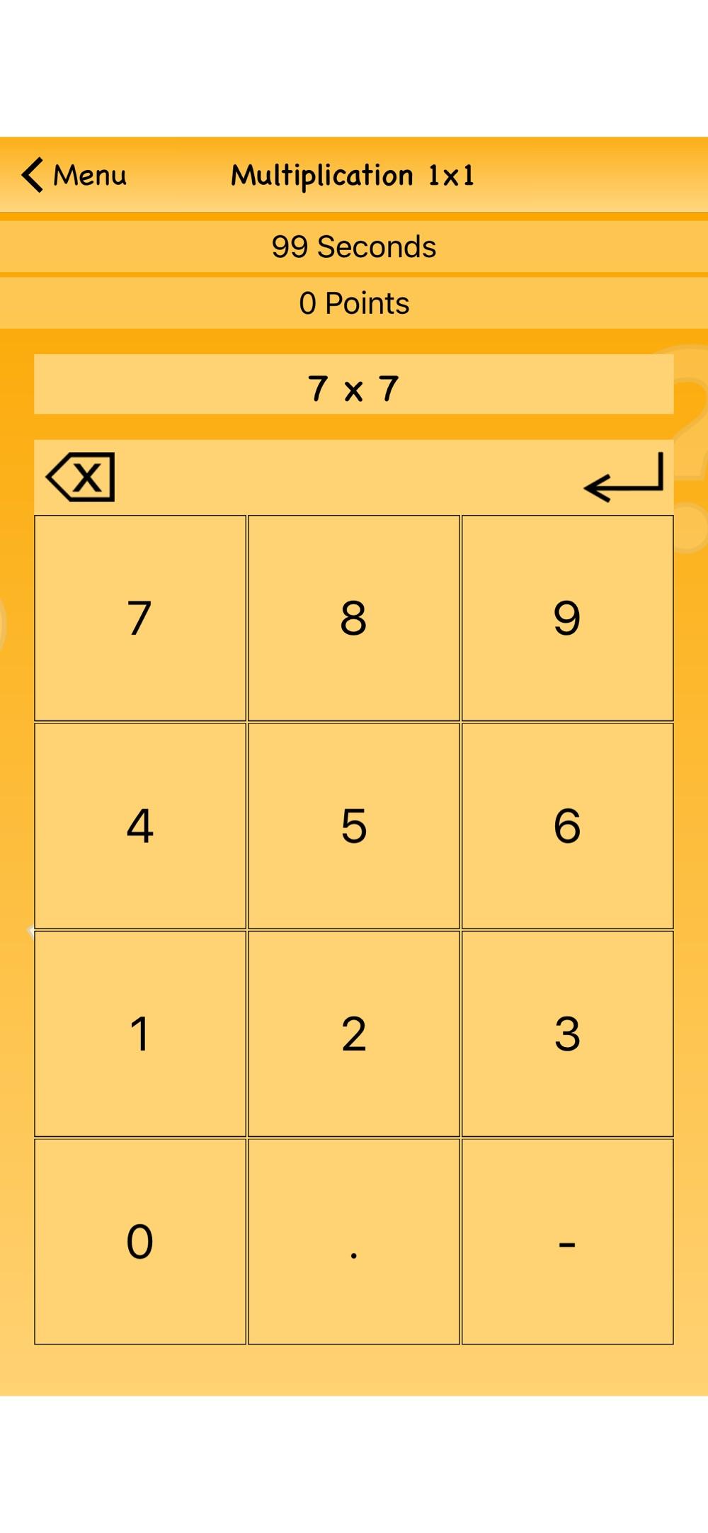 Multiplication 1×1 – Math Game
