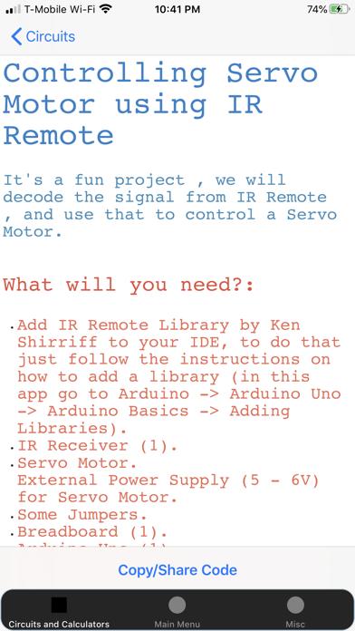 Screenshot #3 pour Electronics Circuit Calculator