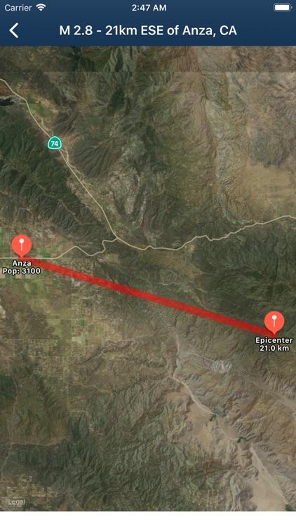 Earthquake Monitor screenshot-5