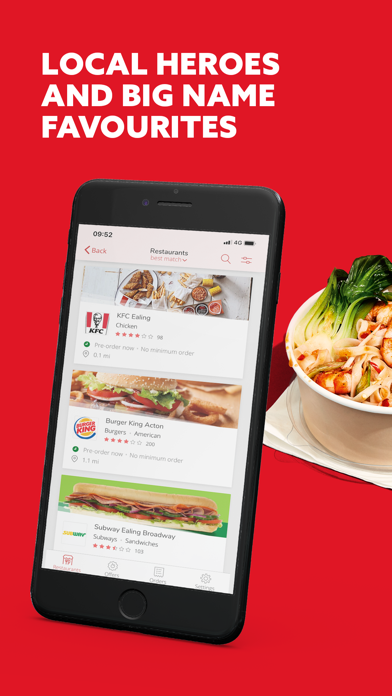 Just Eat - Food Delivery screenshot four
