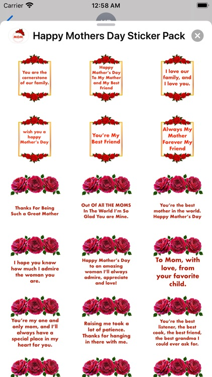 Happy Mother's Day - Stickers! screenshot-7