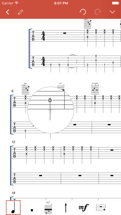 Guitar Notation Pro screenshot three