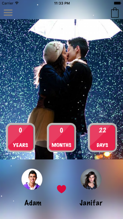 Dreamdays Countdown events screenshot one