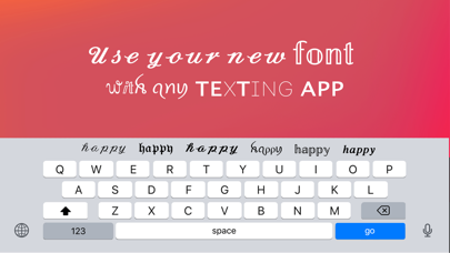 Fonts Keyboard & Cool Art Fontのおすすめ画像1