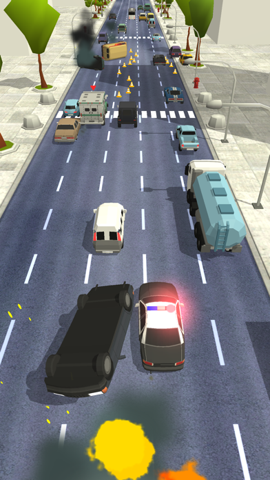 Police Chase - Hot Highways screenshot 2