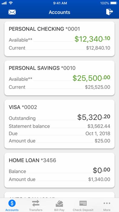 CCU Mobile Banking screenshot two