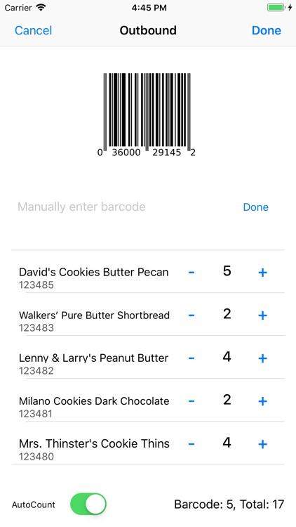 Crosshair - Barcode ERP screenshot-7